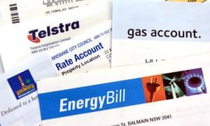 household bills Australia