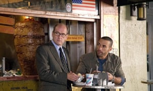 Once more, with jazz hands …Richard Jenkins, Haaz Sleiman in The Visitor