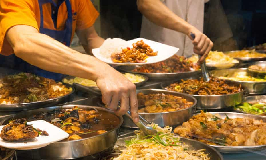 Hawker stall in Singapore