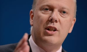 Chris Grayling, the justice secretary