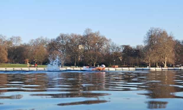The Swimmers in the Serpentine