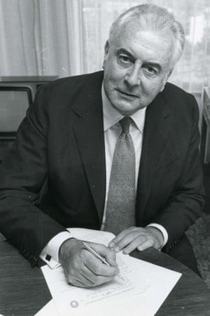 whitlam speech writing