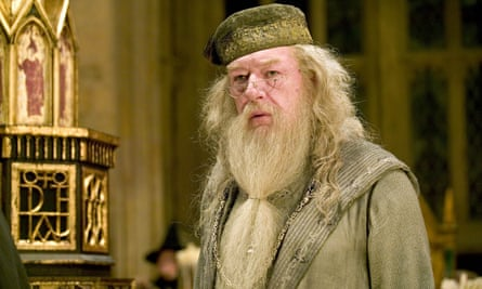 Dumbledore, played by Michael Gambon