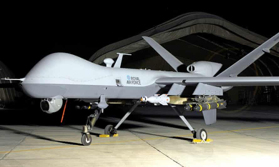 A British Reaper drone