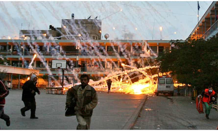 Israeli attack on Gaza school