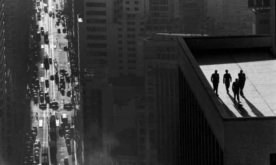 René Burri's photograph of São Paulo, Brazil, 1960.
