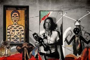 René Burri's self-portrait, Coronado, New Mexico, 1973/83.