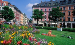 Gartnerplatz, Glockenbachviertel, Munich
