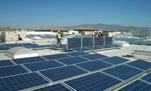 Walmart solar project