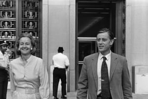 Katherine Graham and Ben Bradlee