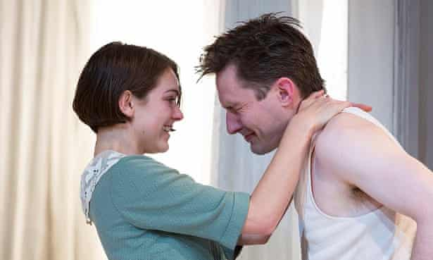 Rose Riley and Luke Mullins in The Glass Menagerie