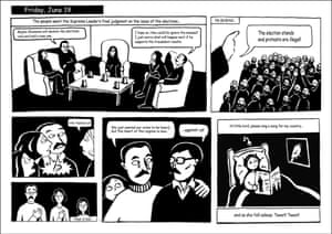 Persepolis, a graphic novel about growing up in Iran by Marjane Satrapi