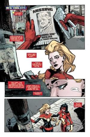 Captain Marvel comic strip