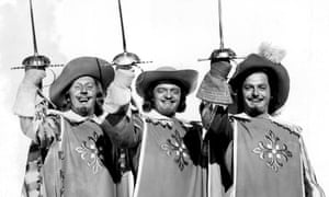 the 1948 screen adaptation of The Three Musketeers.