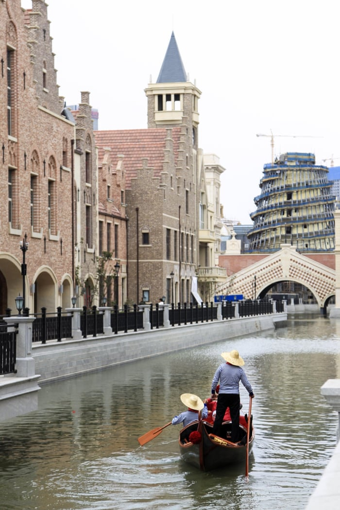 Venice recreation in Dalian, China