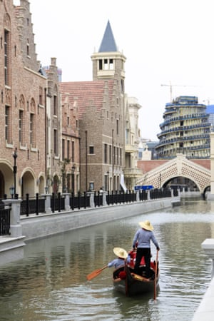 Venice recreation in Dalian, China