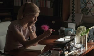 Totting up the tally … Rosamund Pike In Gone Girl.