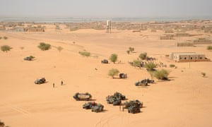 French soldiers mali desert