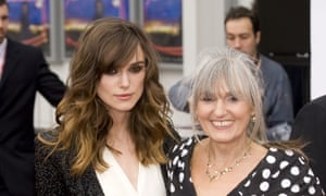 Keira Knightley with her mother Sharman Macdonald