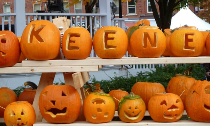 Did police's militarised response to a small town pumpkin