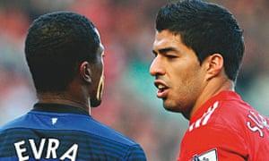 Suarez and Evra