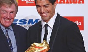 Spain Suarez Golden Boot