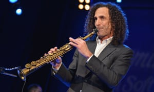 Kenny G performs in January 2014 in New York