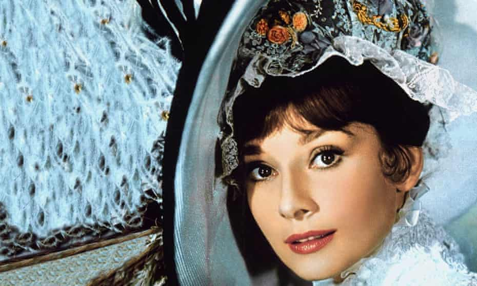 Audrey Hepburn as Eliza Doolittle in My Fair Lady (1964).