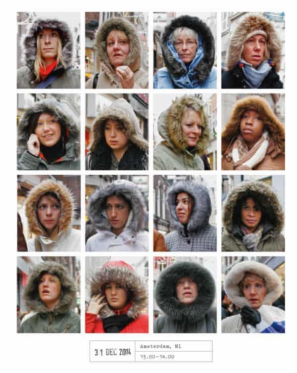 Furry hoods in Amsterdam. From Hans Eijkelboom's People of the Twenty-First Century