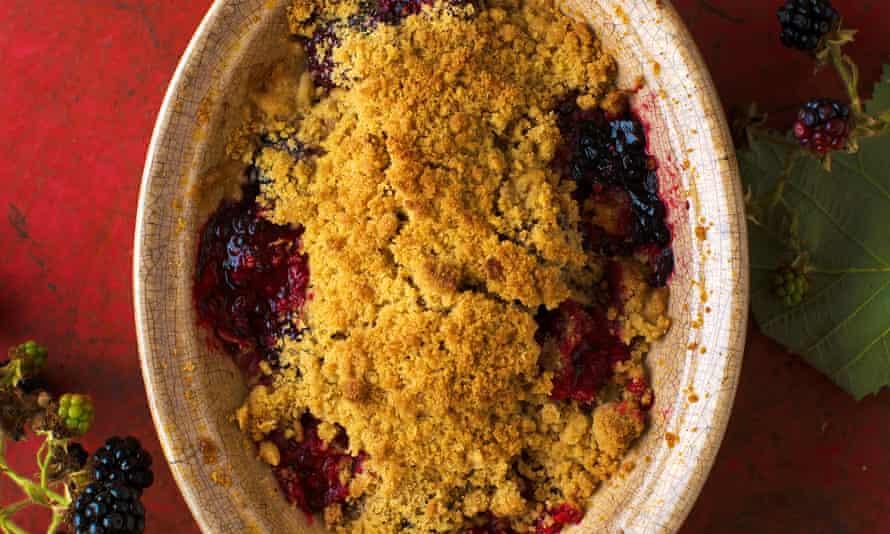 Skye Gyngell's blackberry crisp