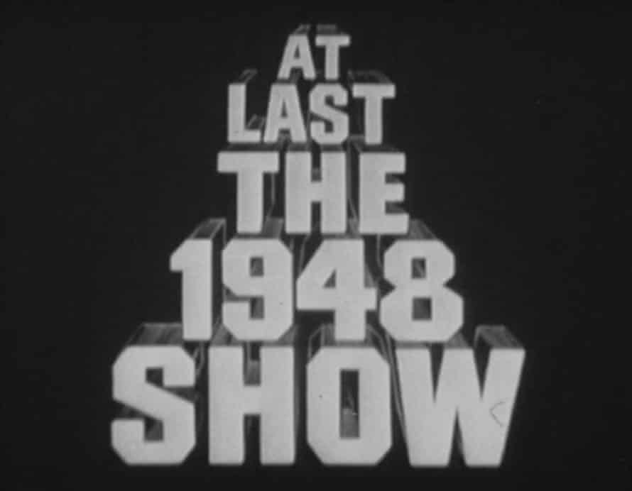 The credits of At Last the 1948 Show.