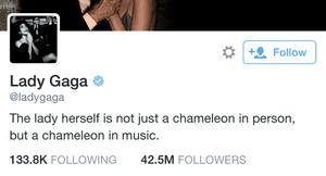 Twitter verified accounts.