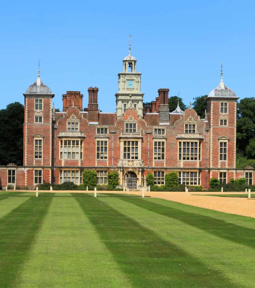 Blickling Hall, the birthplace of Anne Boleyn.