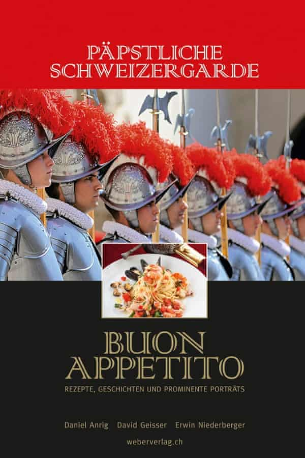 The cover of David Geisser's Vatican cookbook