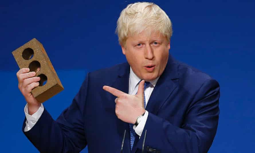 Boris Johnson: unquestionably a douchebag.