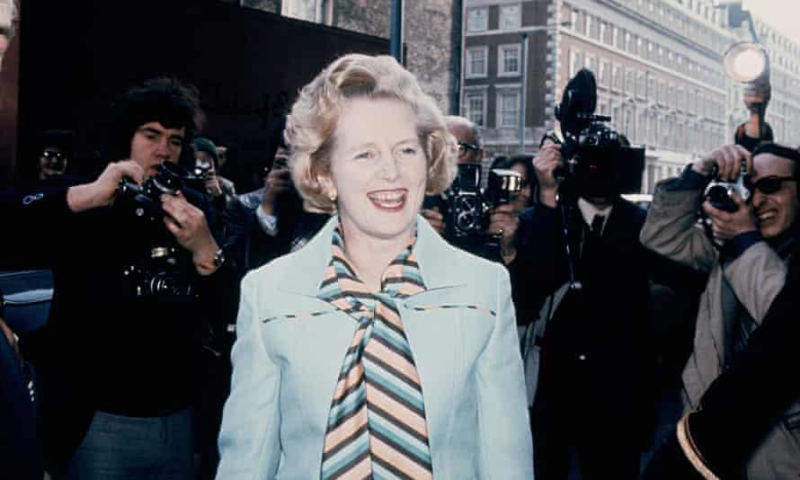 Margaret Thatcher Conservative Party leader 1975