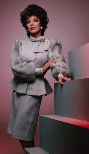 Joan Collins power dressing Dynasty