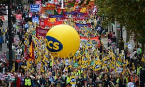 Britain Needs a Pay Rise protesters in London