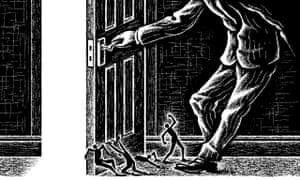 Matt Kenyon illustration on immigration