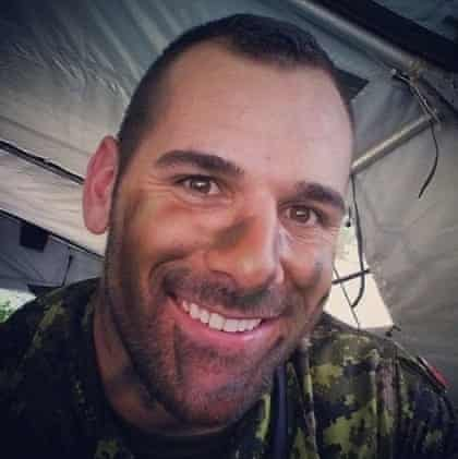 Instagram photo of Nathan Cirillo, who was killed in Ottawa while standing guard at the Tomb of the Unknown Soldier.