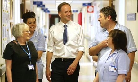 NHS new chief executive Simon Stevens