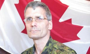 Warrant Officer Patrice Vincent, who died from his injuries after the Quebec attack.
