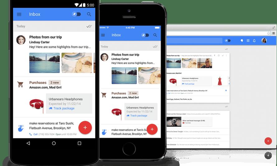 Gmail's new Inbox app.