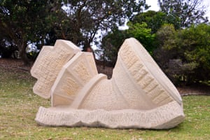 Michael Purdy, Resignation, Sculptures By The Sea 2015