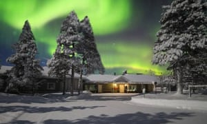 Northern light: a magical adventure in Finland.