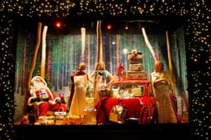 Selfridges' Christmas windows 2014 with the theme Storytelling.