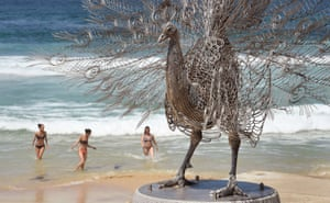 Byeong-Doo Moon of South Korea's Our memory in your place, Sculpture by the Sea.