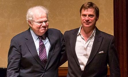 Emanuel Ax (left) and Simon Keenlyside