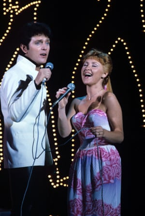 Alvin Stardust and Lulu in Let's Rock, 1981