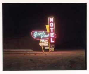 Grandview Motel, Raton, New Mexico, 1981.